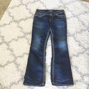 Silver Jeans Suki Mid Bootcut 30/31